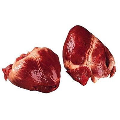 сердце свинины целое